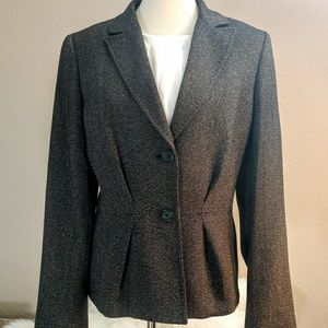 Anne Klein charcoal color professional blazer